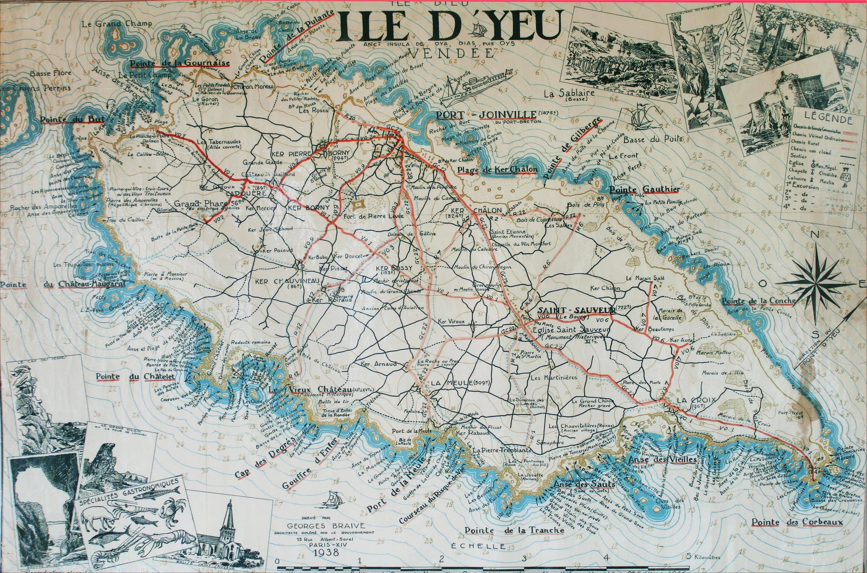 Plages Et Anses Ile D 39 Yeu Plus De 30 Plages Nom