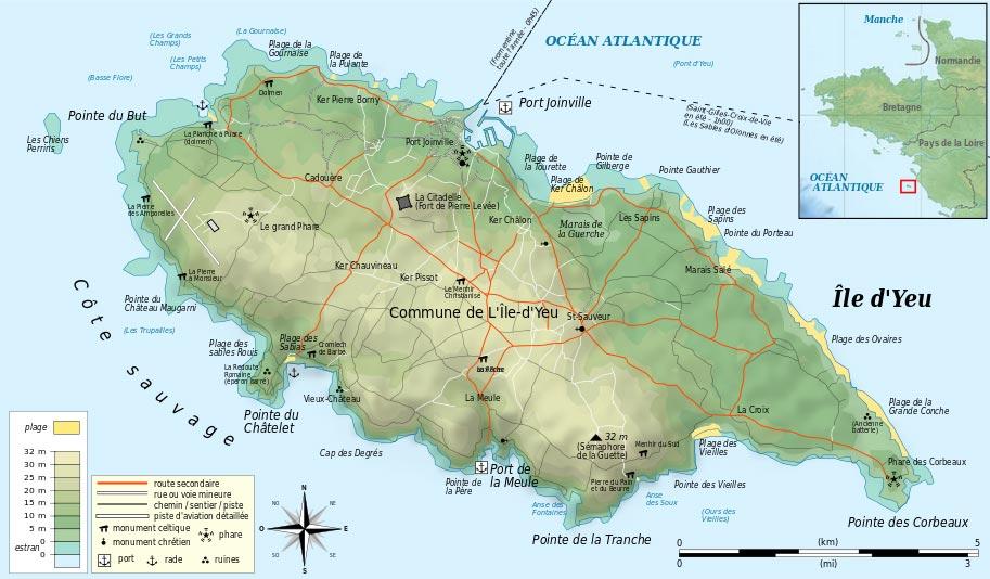 L ile d 39 yeu vacances de reve vend e oc an atlantique - Yacht club ile d yeu ...